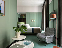 Room Mate Hotel by Patricia Urquiola