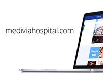 Medivia Hospital / Website