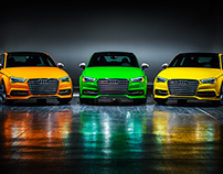 "Audi S3 ""Color Storm"" exclusive Editions"