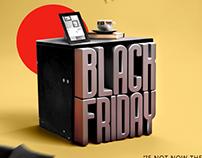 Black Friday furniture Ad