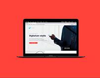 Website for digital Agency Digitarium