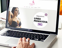 Camila Intimates - Responsive Website