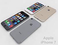 Apple iPhone 7 - 3D Print Model