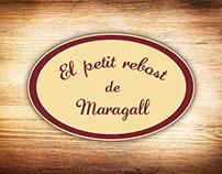 Diseño de logotipo El petit rebost de Maragall