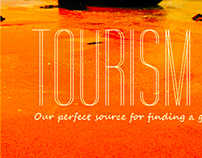 Tourist Catalogue Cover Design