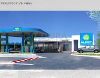 Gazoline Petrol Station