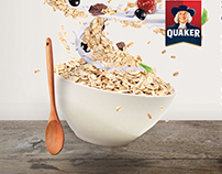 Quaker Campaign Poster: 140 Years of Oatsperiment