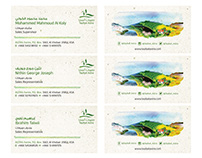 Tayibat Astra Business cards