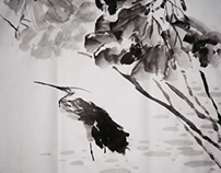 Chinese painting freehand brushwork