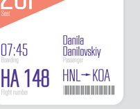 Ticket's design