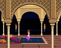 10sec Animation (a parody of 8bit games)
