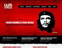 União Juventude Socialista - Website