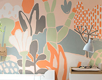 Mural for babies' room