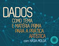 Cartaz:  Brainstorming com Kasia Molga na UFRJ