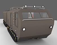 "DT-30 ""Vityaz"" Campervan mod"