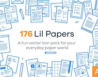 Lil Papers - 176 paper icons