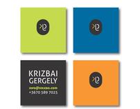 identity design for Gergely Krizbai