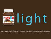 Lançamento - Nutella Light (Projeto Acadêmico)