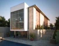 Villa Katampe - Facade and Interior Design