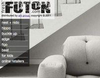 Fresh Futon brand website