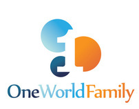 One World Family logo, materials & website