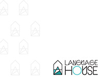 Logo design for a Language House.