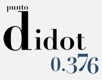 Didot - Porfolio Tipográfico