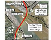 COMMUNITY RE-VISIONING - EcoSky / old Port Mann Bridge