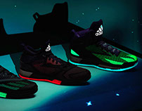 "adidas ASG ""aurora borealis"" collection"