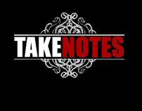 Takes Notes Logo Design (2007)