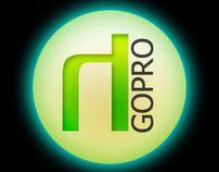 Halo Go-Pro Logo Design (2005)