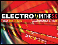 Electro In The Sky Flyer - SkyClub - Royal Oak, MI