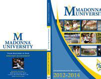 Madonna University - Undergraduate Bulletin Design