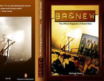 """Book Cover Design - """"BR8NDNEW"""" Biography of Brand New"""