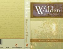 """Walden Book Cover """"Redesign"""" (School Project)"""