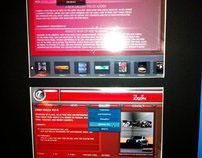 Old Website Template Design. (2008). (Class Project)