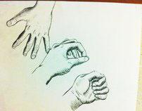 Hands Drawings +Close-ups