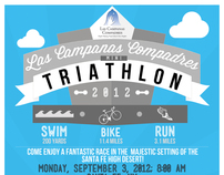Triathlon Advertisement Poster