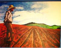 The Farmer - Painting