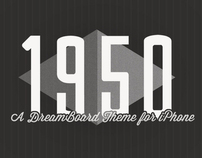 1950 for iPhone DreamBoard Theme