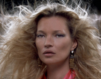 Km3D-1 Starring Kate Moss by Baillie walsh