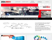 ZEA BBDO - Sitio web Wordpress