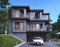 Joe Nguyen House. Renton, USA. CGI