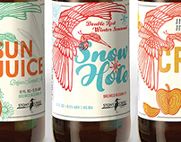 Stony Creek Brewery Seasonal Beer Series Packaging