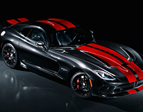 Dodge Viper - Photography & Retouching