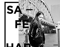 Fashion Editorial Layout: Safe Harbor