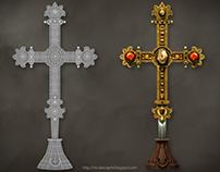 [3D] Croix Reliquaire - Castelnau de Montmiral