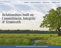 Wealth Management Firm Website Design