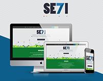 II Semana de Tecnologia da Informação website