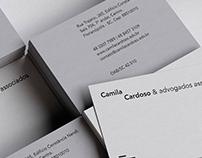 Camila Cardoso & Advogados Associados | Id visual ⚖️